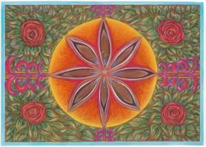 Pastel on Paper, 70x50cm - Framed