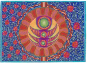 Pastel on Paper, 70x50cm