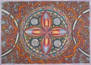 Pastel on Paper, 70x50cm - SOLD